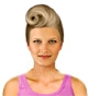 Hairstyle [1415] - party and glamorous