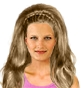 Hairstyle [2395] - party and glamorous